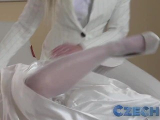 Czech Young bride changes her mind and sleeps with best friend