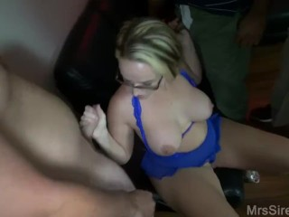 Preview 2 of Wife Blowbang at Club