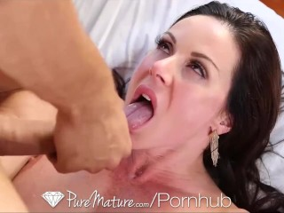 Free Amateur Cam Chat HD - PureMature Sexy Kitten Kendra Lust gets pussy pounded