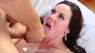 HD PureMature Sexy Kitten Kendra Lust gets pussy pounded