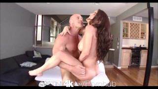 4K HD - Tiny4K Cutie Dillion Harper deepthroats a big cock