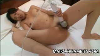 Mayu Yamano - Sex Toy And Hard Cock Penetrating A Japan Milf Pussy  japanese milf cowgirl housewife cum in pussy mayu yamano balls sucking cheating wife asian blowjob maikocreampies