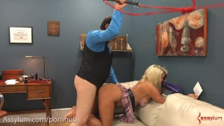 Big ass Layla Price gets rough anal & ass to mouth as degraded cheerleader Adult kissing
