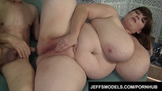 Huge Boobed Lexxxi Luxe takes in a long cock