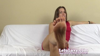 Lelu Love-Dirty Smelly Pantyhose FemDom Humiliation  homemade hd humiliation foot femdom cei amateur solo soles fetish domination pantyhose natural-tits lelu-love brunette toes feet ruined
