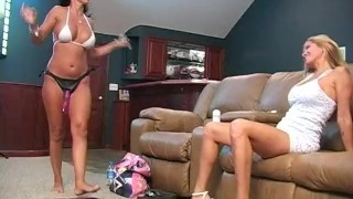 Strapon fucking slutty latina MILF housewife!  big tits latina lesbian milf seduce lesbian strapon milf big tits mom blonde mother big boobs girl on girl milf seduction fake tits housewife lesbian housewife rio big tits milf