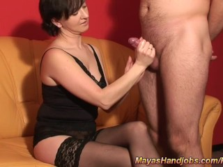 3 cumshots in a row for Maya fun