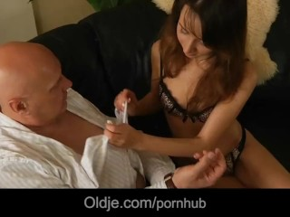 Naughty Or Nice Full Movie Online Fucking, Old man fucking his sexy and horny young wife Masturbatio
