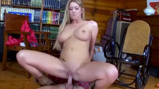 Hood tit red fucked little cock blonde riding gets big bad by big a fucking blonde