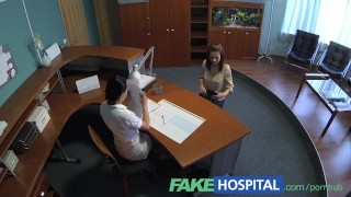 FakeHospital Nurse seduces patient and enjoys licking her pussy