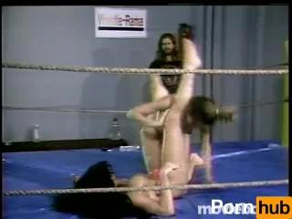 Wrestling Fetish Lesbians, Scene 1 main image