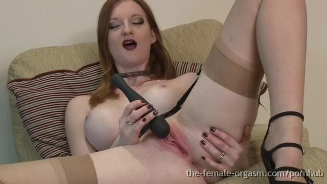 Prevent facial flushing Hot natural redhead masturbates to big pulsating orgasms with sex flush