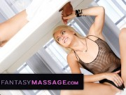MilkingTable Masseuse Ensures Clients Cock Satisfaction