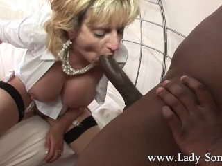 Unplanned Anal British Housewife Bbc Creampie 3