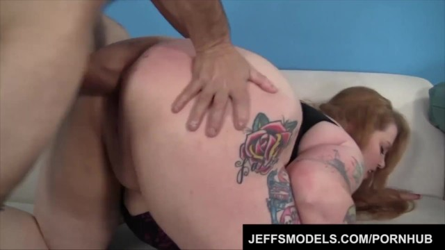 Heavy, Tattooed Chick Bailey is Fucked by a Sleazy Guy