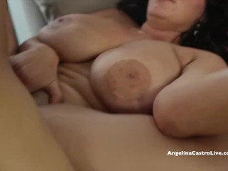 Large Titted Angelina Castro Determined for Spanish Dick!