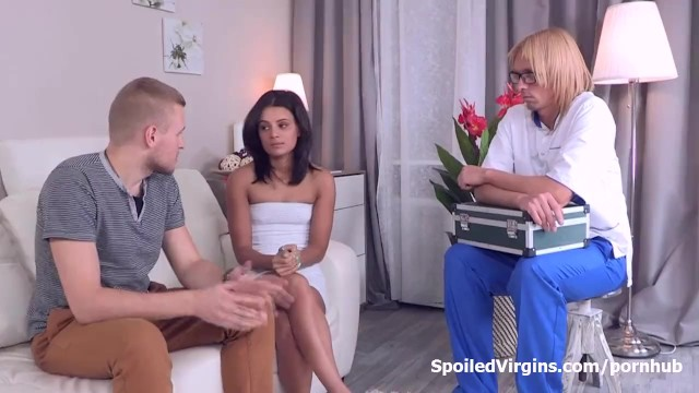 Spoiled virgin sex trailer for free Young veronica did not want to be a pussy the first time she had sex