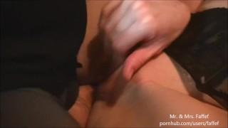 Shot cum yum of a pussy pov