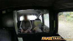 FakeTaxi Big tits babe gives cabbie a blowjob