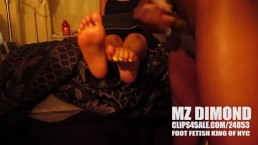 BUSS ALL OVER Mz Dimonds TOES