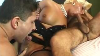 Tease scene  tgirl cock sucker cock