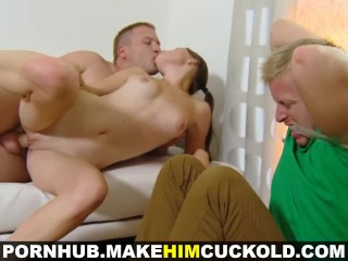 Have husband sex toon watching wife