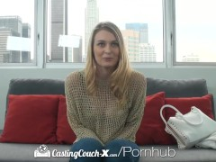 HD – CastingCouchX Sweet Natalia Starr takes massive load on her face