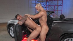 Raging Stallion - Boomer Banks First Ever Bottom scene!
