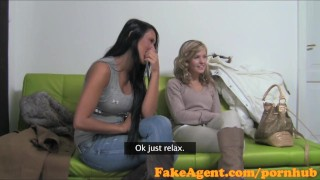Interview in smoking casting fucked two hard amateurs fakeagent hot interview of
