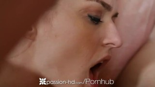 HD - Passion HD Two girls tag team and slobber guys juicy dick Verified creampie