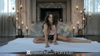 HD - Passion HD Madison Ivy jerks guys dick till cum explosion