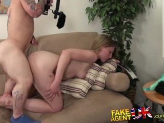 Bondage And Anal Sex Fakeagentuk Midget Cons Hot Blonde Into Doing Hardcore Porn Casting