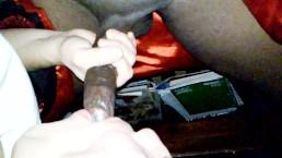 long thick pretty black cock. .sucking super sweet long thick. brolick  BBC