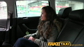 Preview 1 of FakeTaxi Hot student lets cabbie cum in her mouth