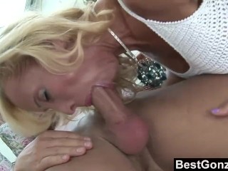 Mother And Daughters Porn Mature Blonde Sucks And Fucks