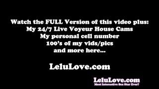 Lelu Love-FemDom Humiliating Worship Ruined Orgasm  feet lelu love domination homemade femdom teasing amateur ruined tease encouragement instruction brunette stockings natural tits fetish hd high heels foot