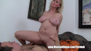 Stepmom Demands Anal From Lazy Son And Gets It Riding vixen