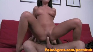 FakeAgent Sexy Cuban chick is hungry for big cock in Office