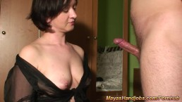 4 cumshots on Maya