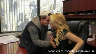 Wicked - Hot Milf Jessica Drake loves cock Mom curvy