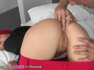 Preview 5 of Teens Love Huge Cocks - Teen Karla Kush wants big dick