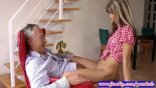 British babes make old man jizz Fbb woman