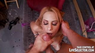 Man fucks hot chicks in naughty fantasies. View redhead