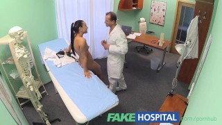 FakeHospital Doctor needs the nurse to help him with his master plan Black tits