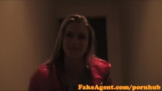 FakeAgent Sporty babe with great physique gets fucked hard before facial  office sex point of view homemade audition amateur cumshot pov casting couch real reality interview oral sex fakeagent