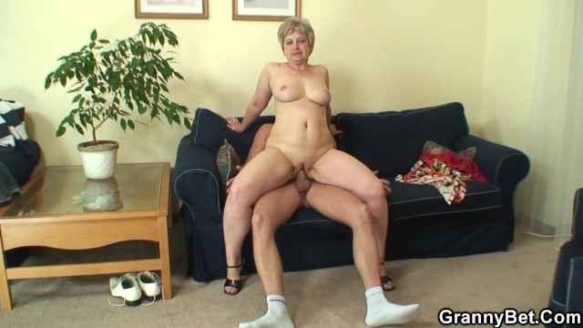 The lonely crystal adult Lonely 60 years old granny swallows big cock
