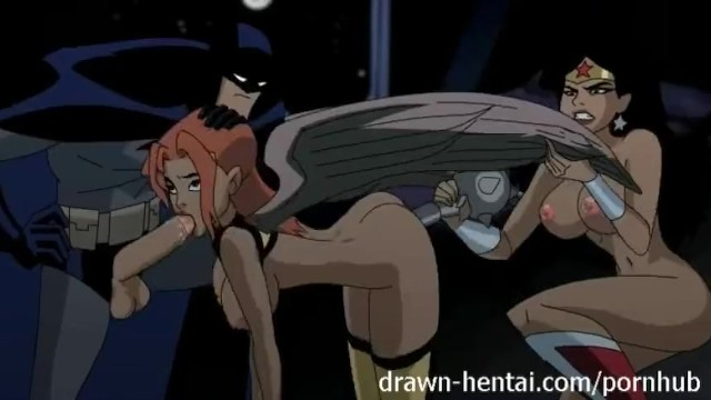 Young justice hentai - Justice league hentai - two chicks for batman dick