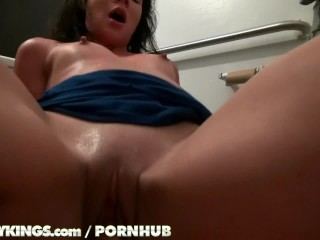 Reality Kings - Teen gets pounded in the bathroom