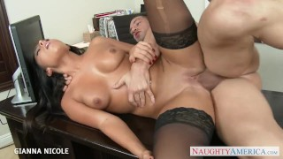 Babe beauty office the in gianna nicole fuck big naughtyamerica