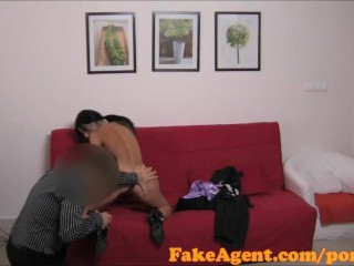 Preview 6 of FakeAgent Hot mature teacher loves getting spanked and fucked in Casting